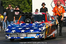 Dina Parise Ended Her Day Via Tire Shake In The Corvette Pro Mod