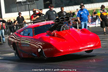 Pete Farber Didn't Advance In The Daytona Pro Mod
