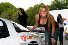 Taylor Barnes, Carsafe Aronson Supermodel, At The Shakedown Posing Candidly