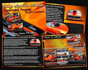 Gary Courtier Camaro Pro Mod Sponsorship Proposal